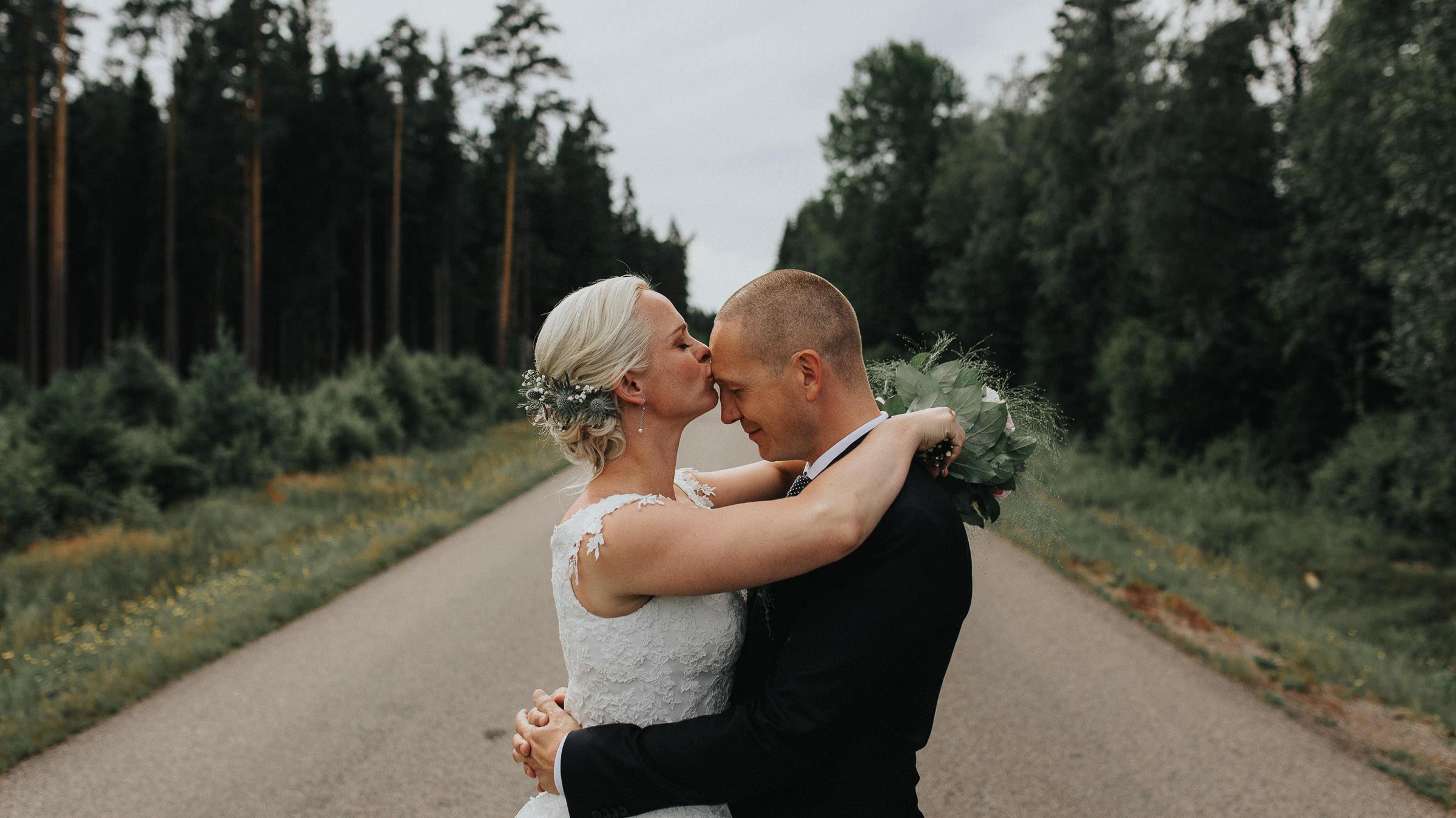 Vigsel vid ASA Herrgård, Småland,